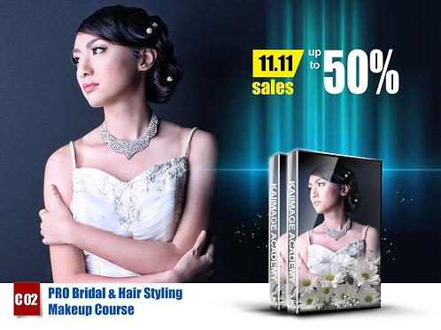 C02 - PRO Bridal & Hair Styling Makeup