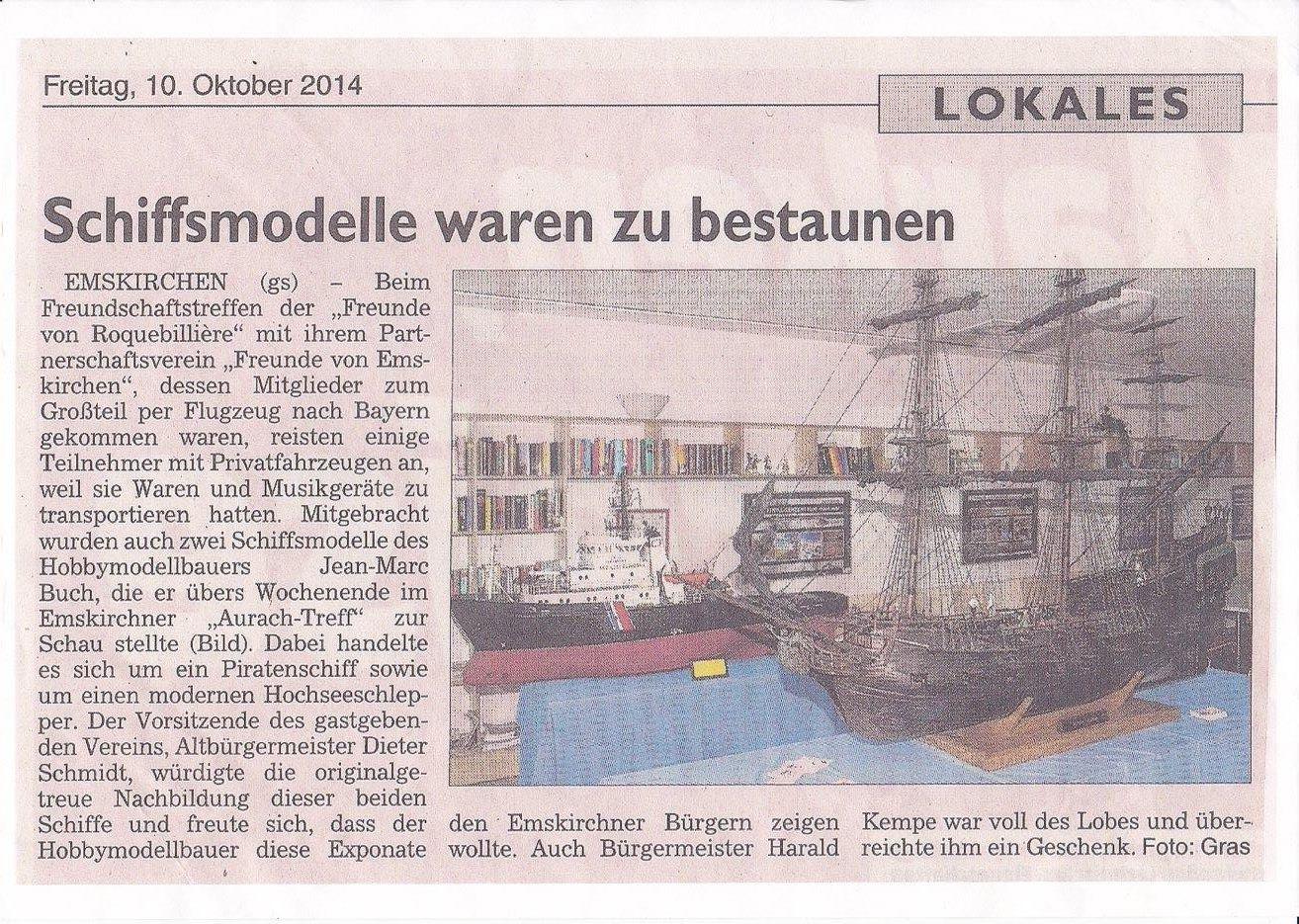 Expo en Allemagne.