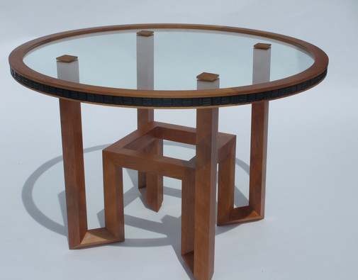 Squares in the Round, Walnut
