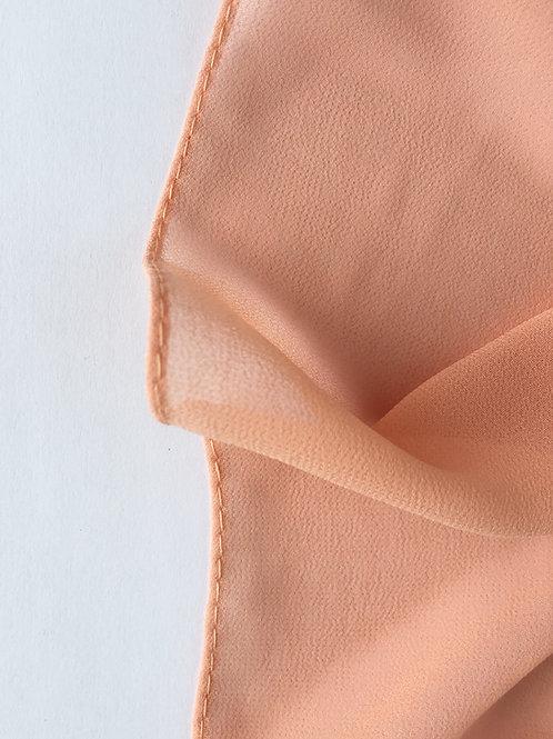 PÊCHE Hijab carré mousseline