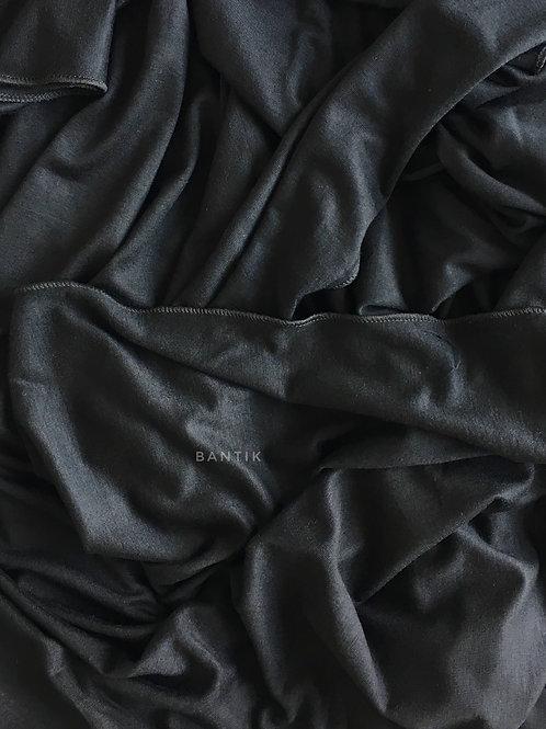 NOIR Châle jersey