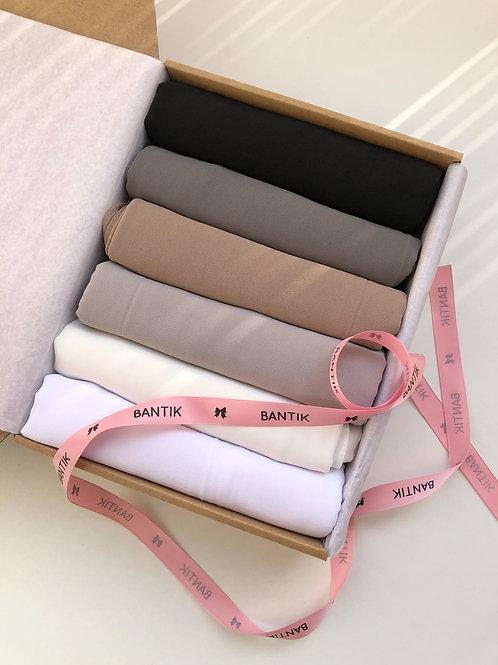 Box BANTIK #B5 collection hijab mousseline