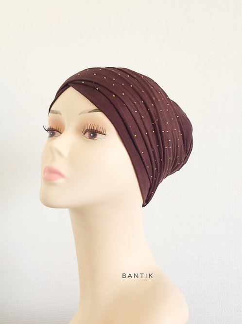CHOCOLAT  Turban Bonnet