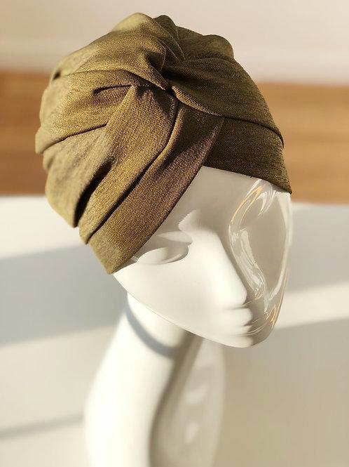 Bonnet croisé KAKI