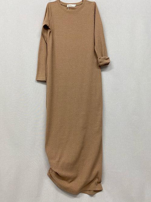 Robe pull CARAMEL