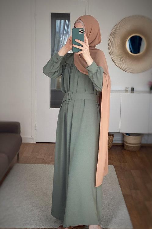 NANA robe longue KAKI