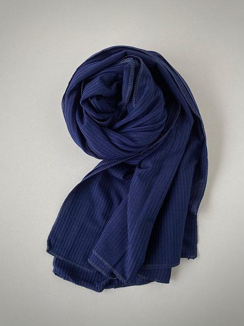 Hijab jersey jazz BLEU
