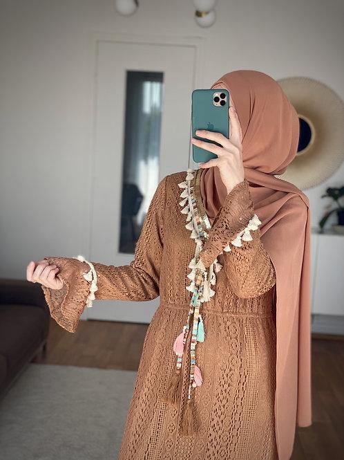 Robe Bohème caramel