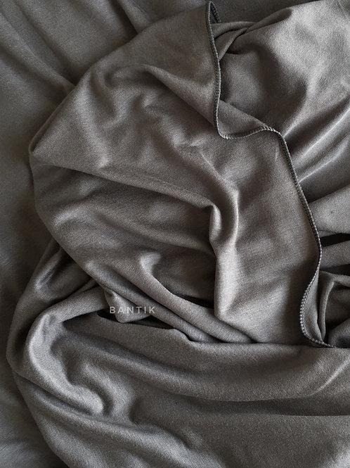 GRIS Châle jersey