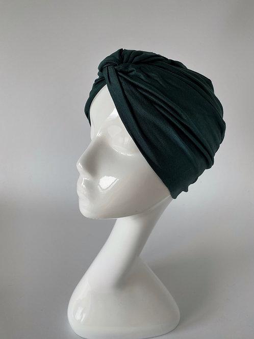 Turban Jersey Vert