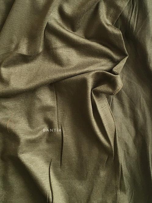 KAKI Châle jersey