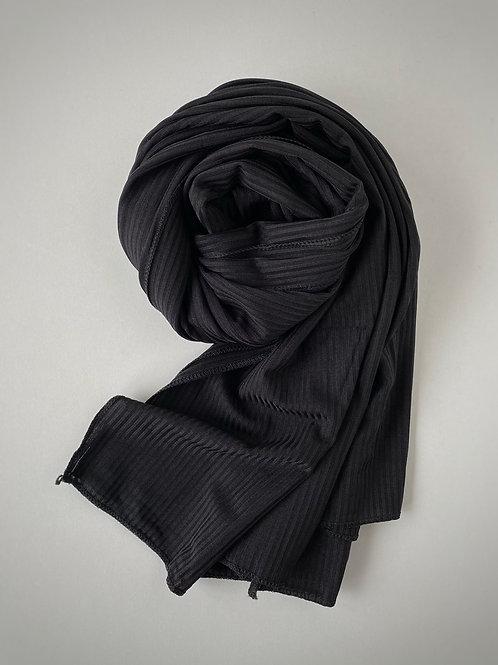 Hijab jersey jazz NOIR