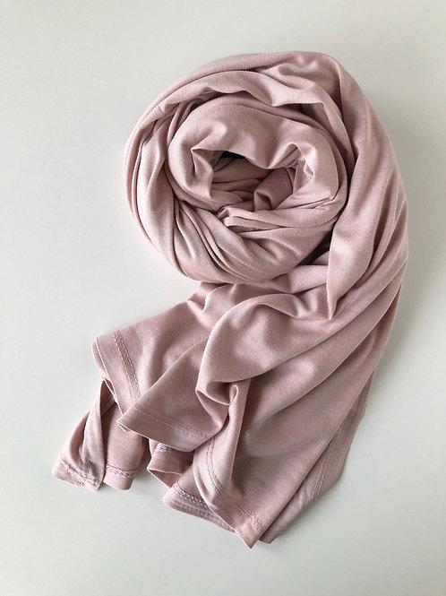 Hijab jersey premium ROSE PASTEL