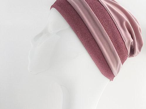 Bonnet VIEUX ROSE