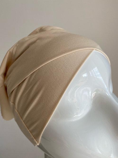 Bonnet croisé BEIGE