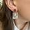 Thumbnail: Boucles d'oreilles or Rose