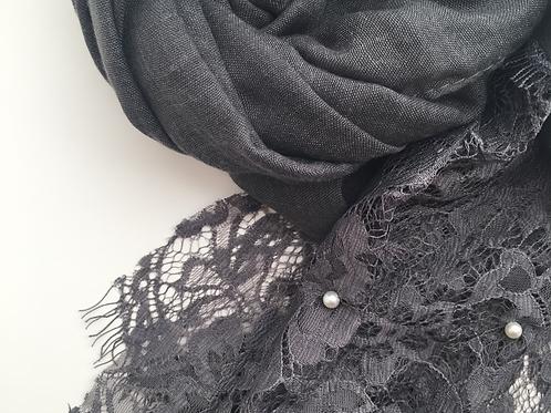 Hijab esharpe GRIS