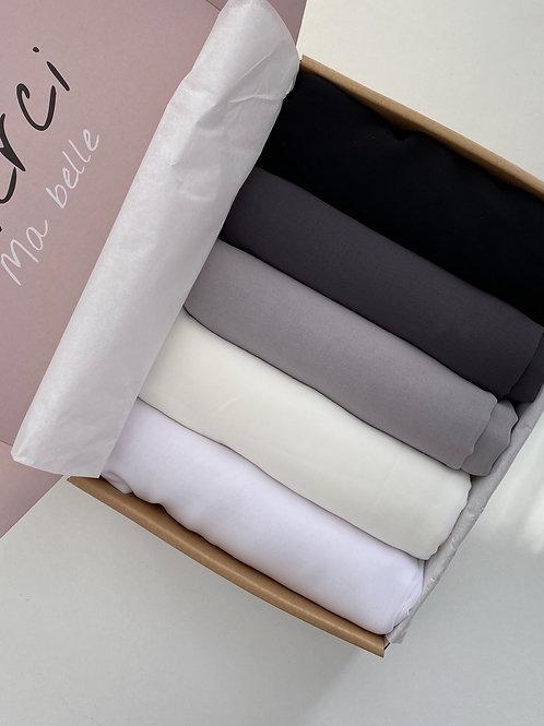 Box BANTIK hijabs carré