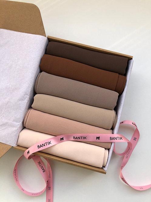 Box BANTIK #B4  collection hijab mousseline