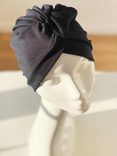 Bonnet croisé BLEU FONCÉ