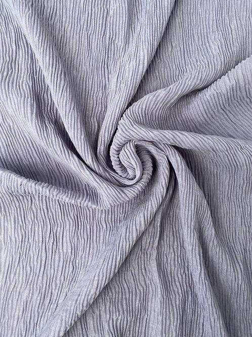 Écharpe plissée viscose Lavande