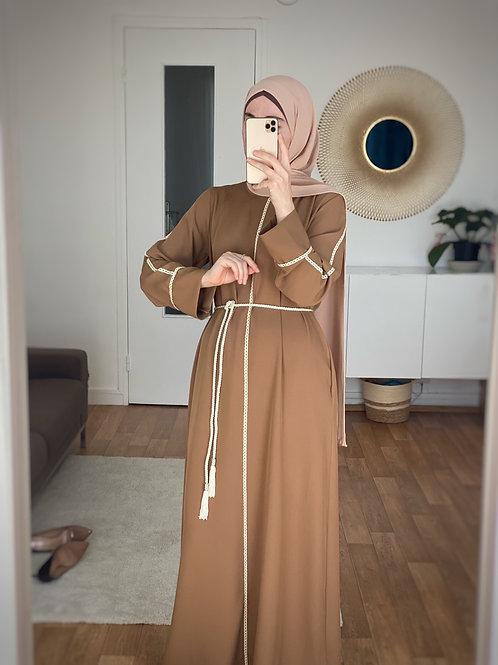 Abaya robe CARAMEL