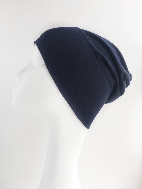 Bonnet BLEU FONCÉ