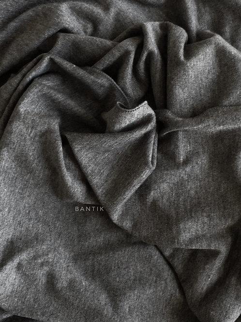 GRIS  FONCÉ Châle jersey