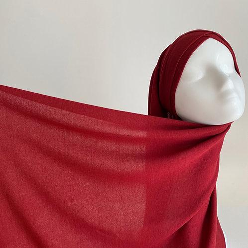 Hijab à enfiler jersey BORDEAUX