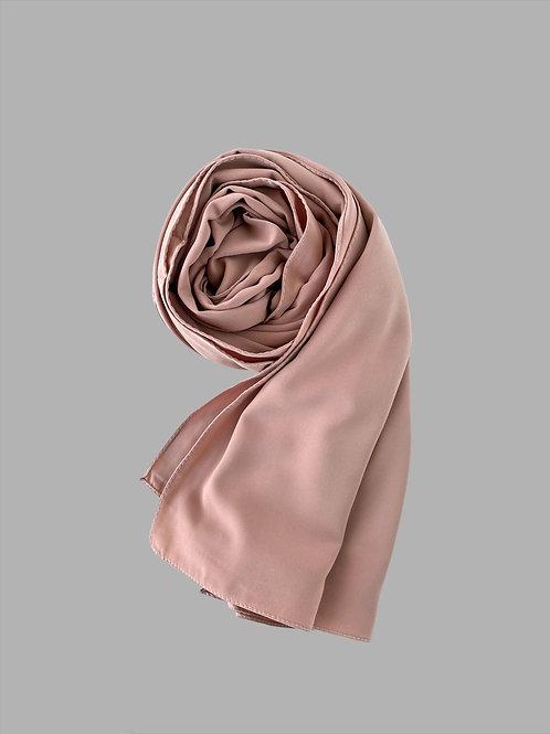 Hijab soie de médine bisque