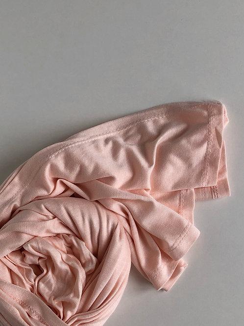 Hijab jersey ROSE PÊCHE