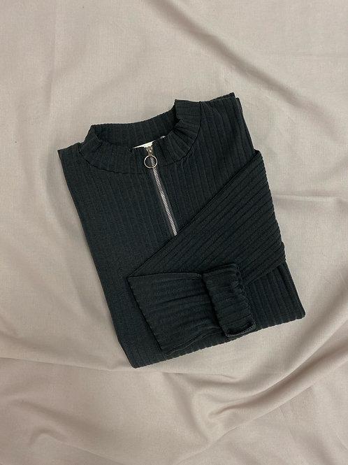 Robe pull GRIS FONCÉ