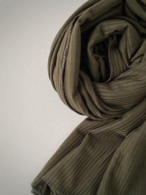 Hijab jersey jazz KAKI