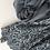 Thumbnail: Hijab jersey dentelle en strass GRIS