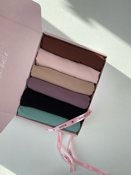 Box hijabs soie de médine