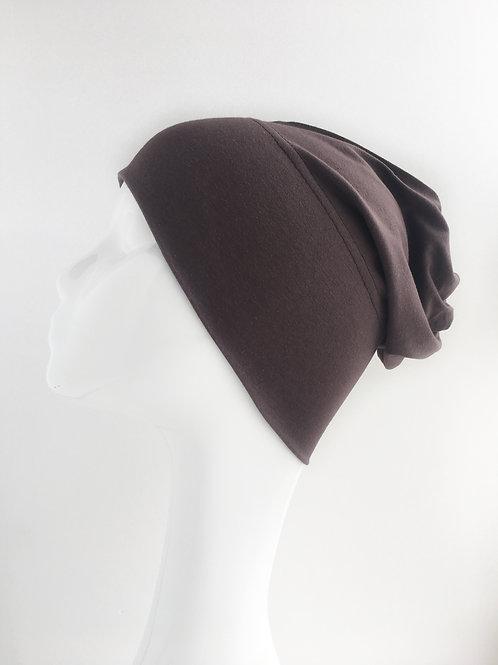 MARRON FONCÉ Bonnet