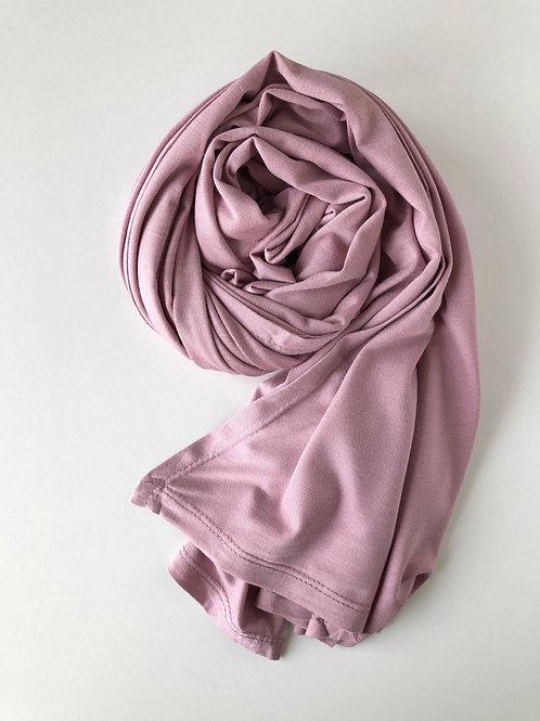 Hijab jersey premium ROSE DRAGÉE