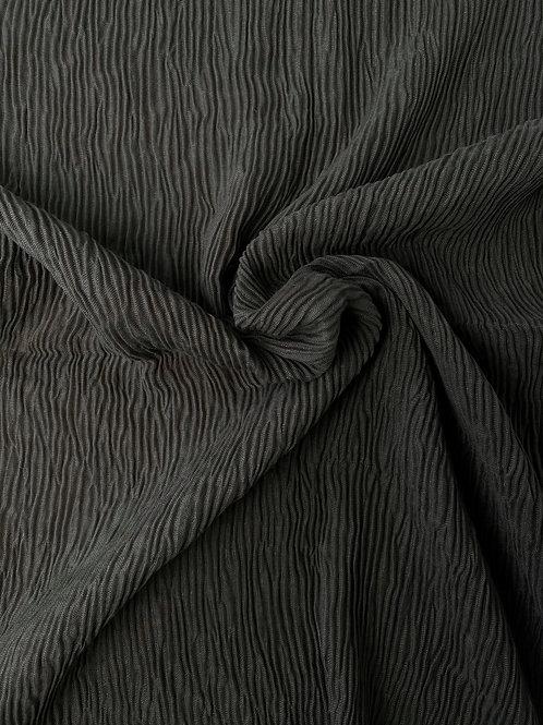 Écharpe plissée viscose Gris