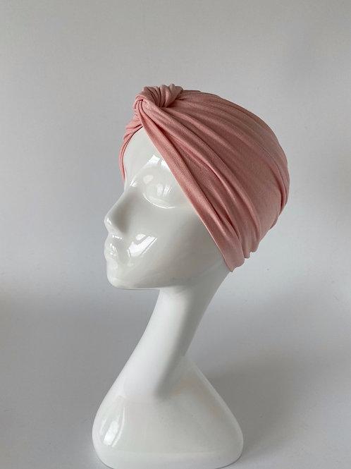 Turban Jersey Rose pâle
