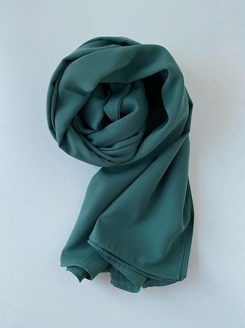 Hijab soie de médine VERT