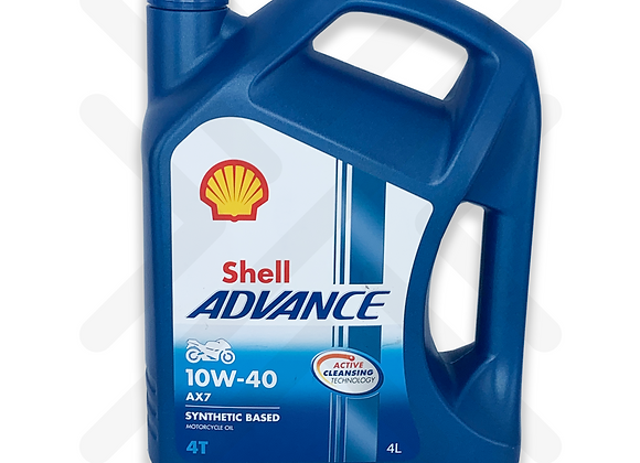 Shell Advance AX7 10W-40 4L