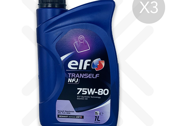 Elf Tranself NFJ 75w-80 3L's (3 x1L)