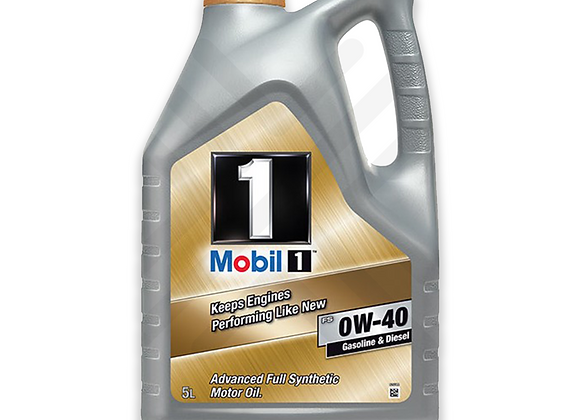Mobil 1 0W-40 Fully Synthetic Engine Oil