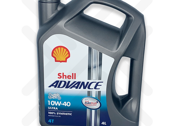 Shell Advance Ultra 4T 10W-40 4L
