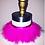 Thumbnail: Hot Pink Feather Choker
