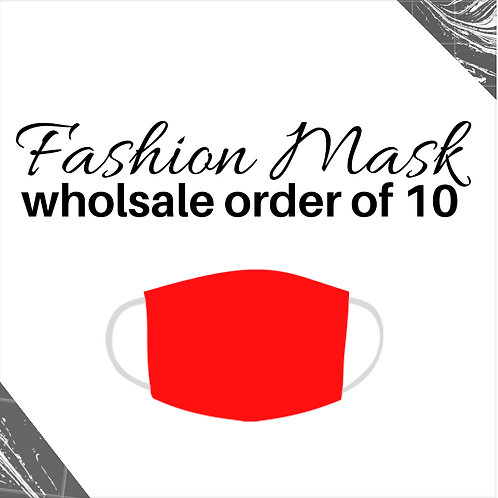 Red Wholesale Fashion Mask (10)
