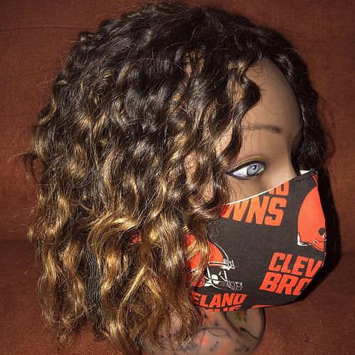 Cle Browns Fashion Mask