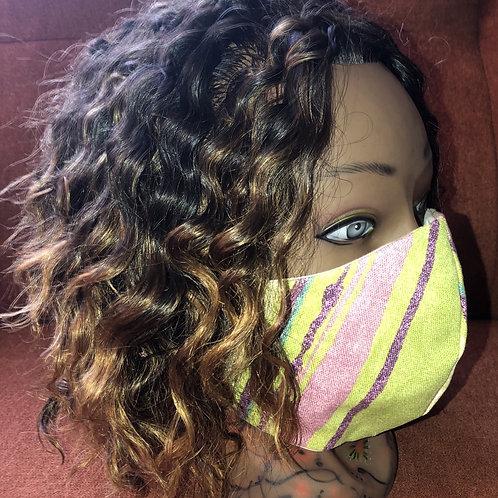 The Fun Stripes Fashion Mask