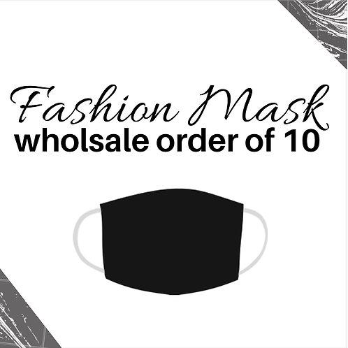 Black Wholesale Fashion Mask (10)