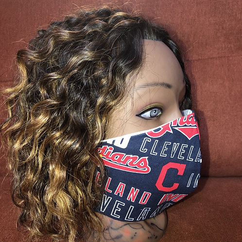 Cle Indians Fashion Mask